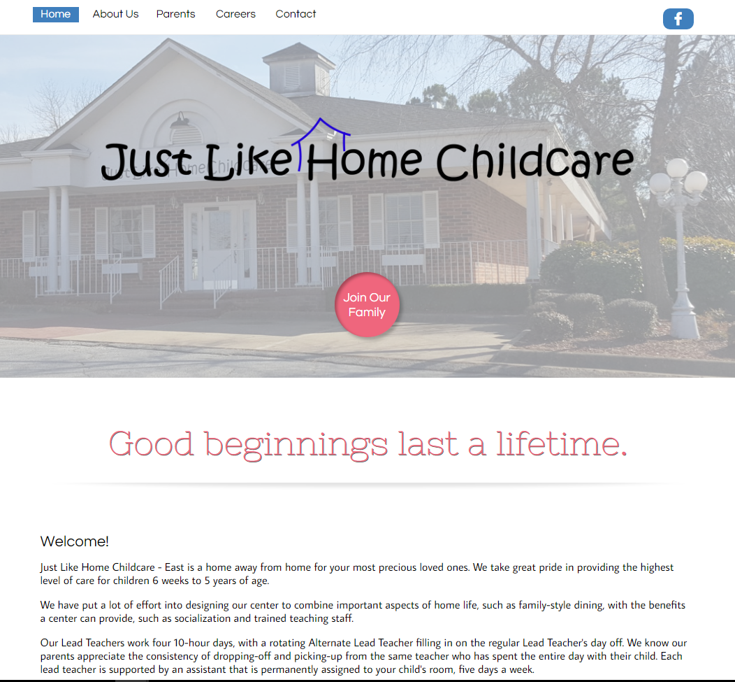 Just Like Home Childcare - East